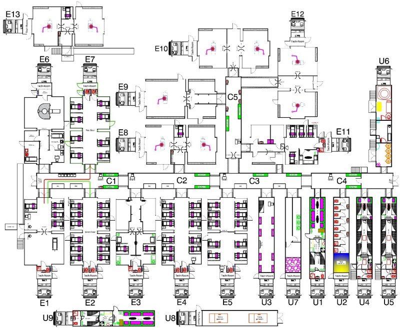65-bed mobile hospital
