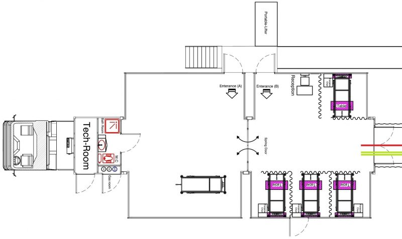 mobile modular hospital