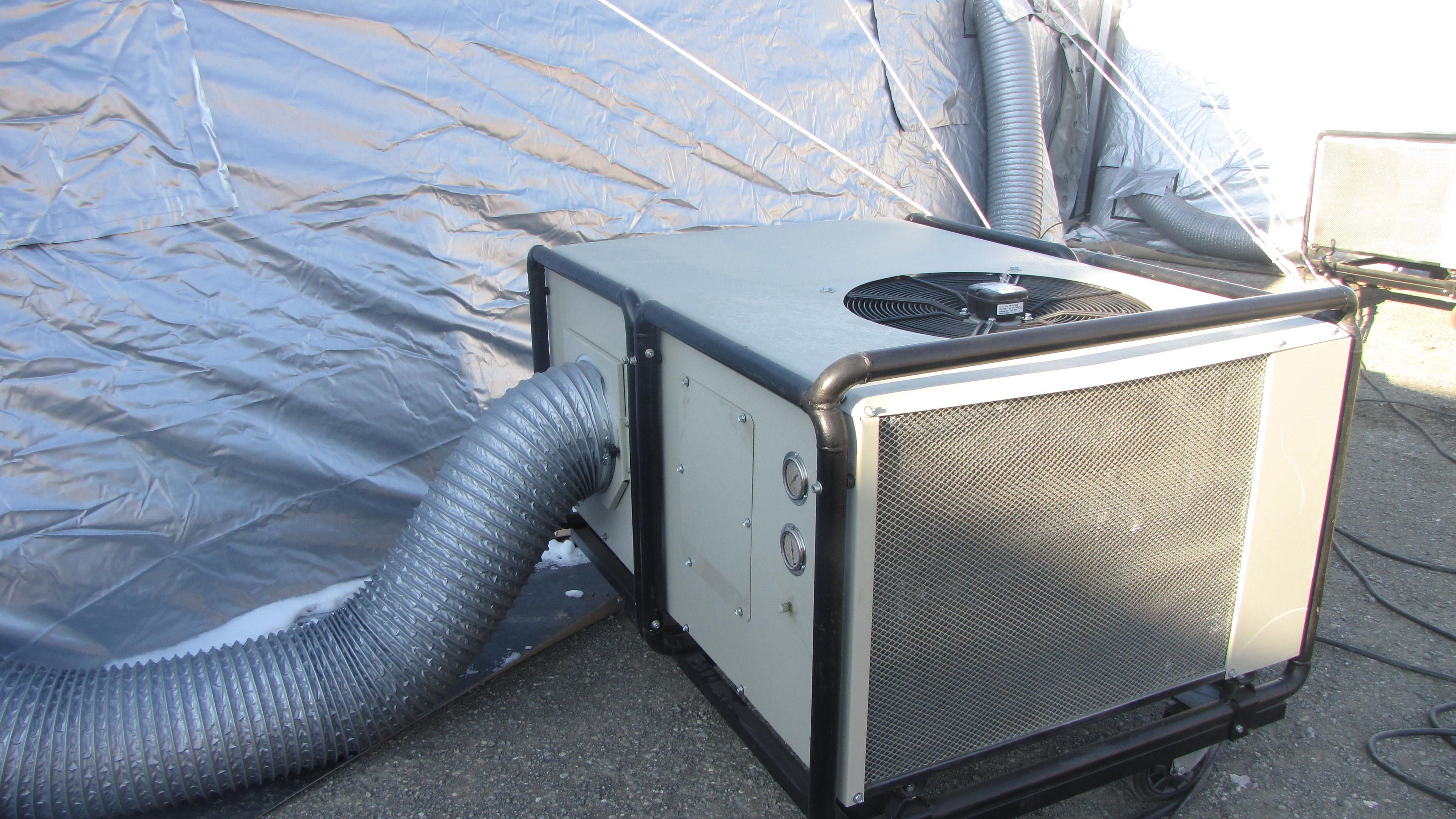 Military Air Conditioning System And Tent Air Conditioner