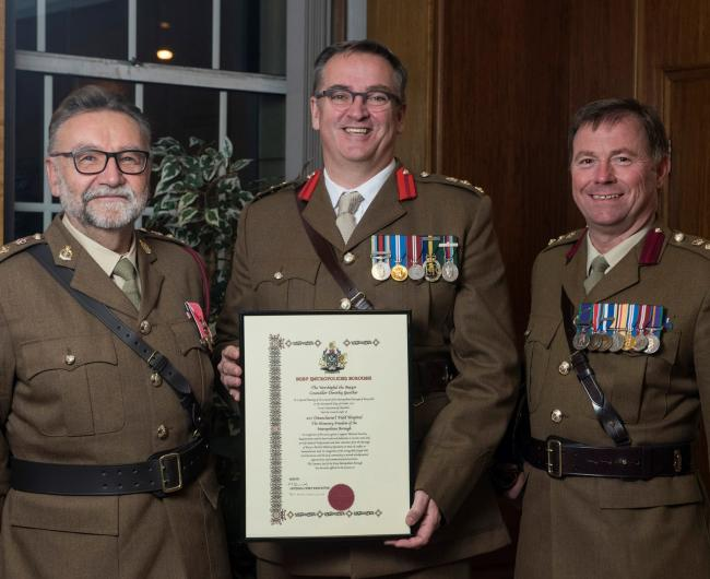 207 Manchester Field Hospital given Freedom of the Borough by Bury Council