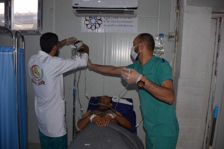 Qatar provides health care for 10,000 Iraqis in Mosul