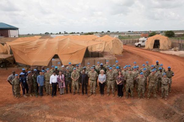 UK Field Hospital for UN Forces in South Sudan