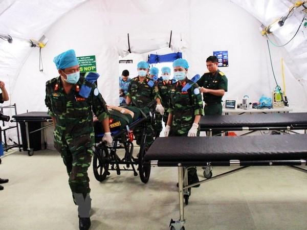 Vietnam fulfills preparations for field hospital in South Sudan