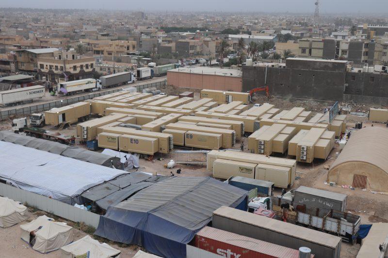 mobile hospital karbala